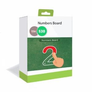 4-numbersboard